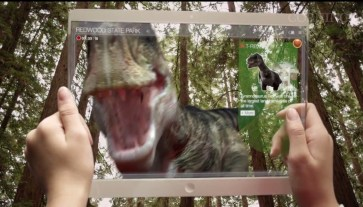 Augmented Reality Transparent Tablet