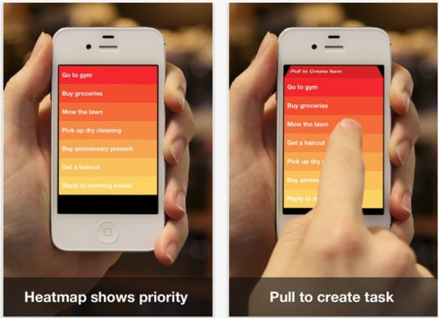 Clear to do list for iPhone