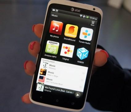 HTC One X - HTC Sense 4.0 Music Hub