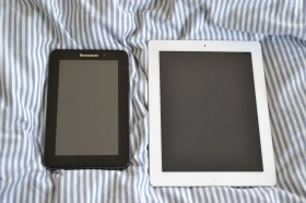 IdeaPad A1 vs. iPad 2
