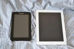 IdeaPad A1 vs. iPad 2
