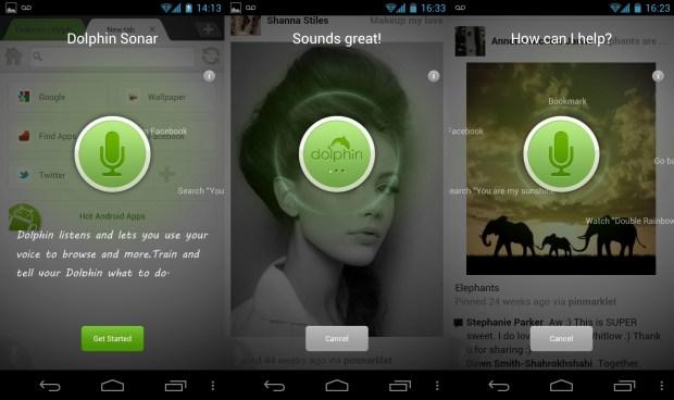 Dolphin Sonar Screenshots