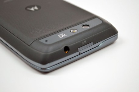 Droid 4 Review - Headphone Jack
