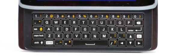 Droid 4 Review - Keyboard