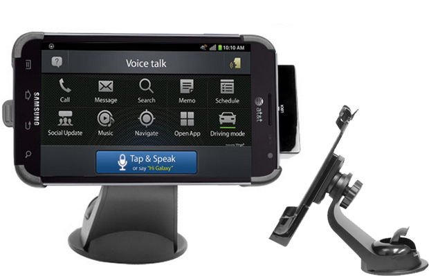Galaxy Note i717 Vehicle Navigation Mount & Car Charger