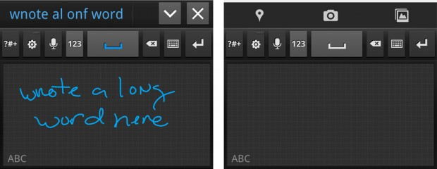 Galaxy Note Samsung Keyboard Handwriting Recognition