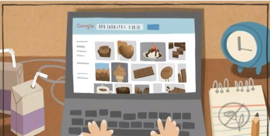 Google Doodle Valentines Day