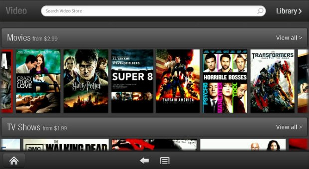 Kindle Fire Amazon Instant Video