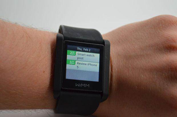 Smart Watch WIMM - Calandar