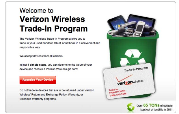 Verizon Trade-In Program