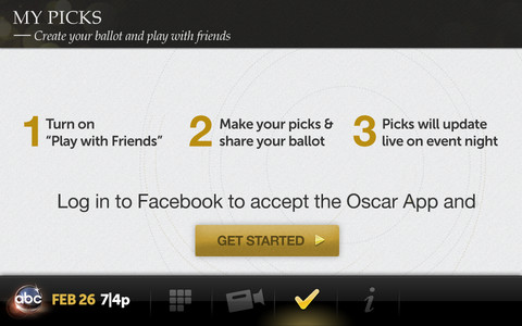 Watch Oscars on iPhone