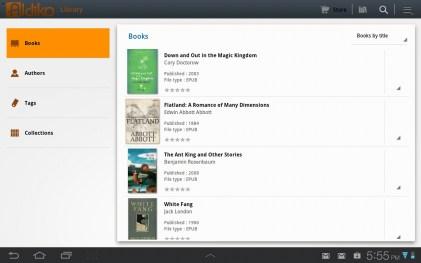Aldiko Book List