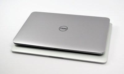 Dell XPS 13 Ultrabook vs. MacBook Air Size