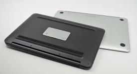 Dell XPS 13 Ultrabook vs. MacBook Air bottom