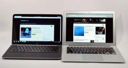 Dell XPS 13 Ultrabook vs. MacBook Air head on