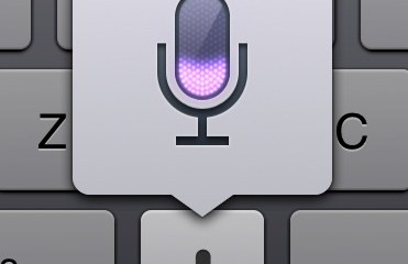 Dictation on the new ipad