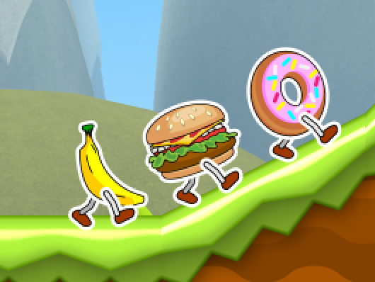 Food Run iPad 2