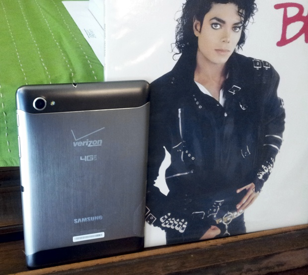 Samsung Galaxy Tab 7.7 Back