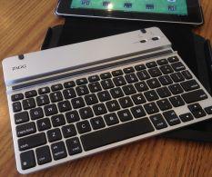 ZAGGfolio keyboard outside the case