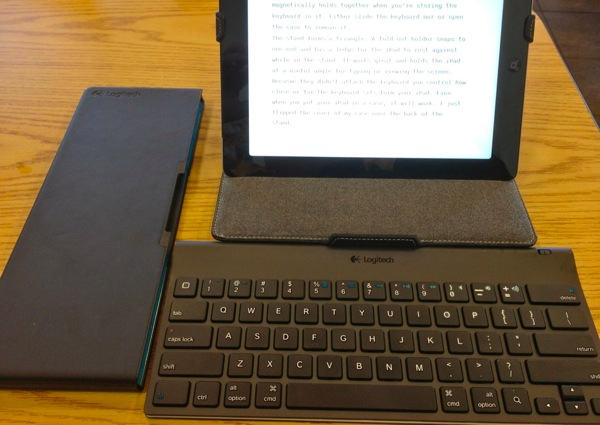 logitech tablet keyboard a great mobile writing solution