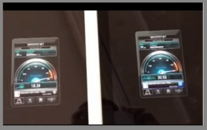 New iPad 4G LTE SPeed Test AT&T vs Verizon