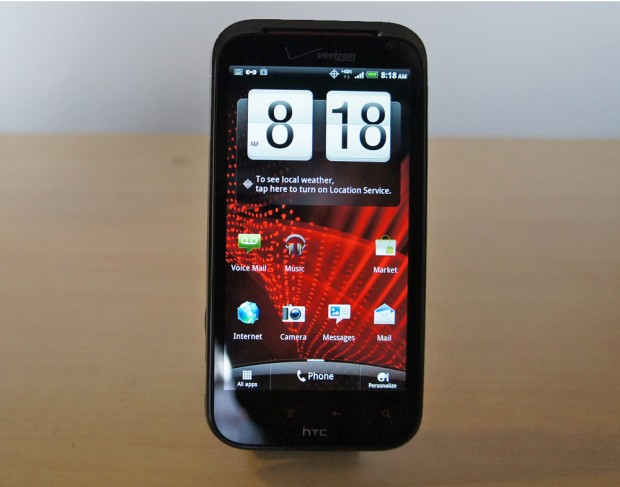 Android 4.0 for HTC Rezound Leaks Out