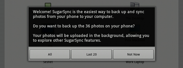SugarSync Photo Sync Auto