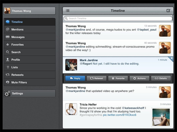 TweetBot [iPhone, iPad]