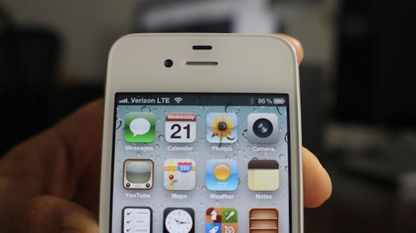 Verizon 4G iPhone
