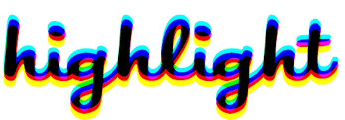highlight logo large