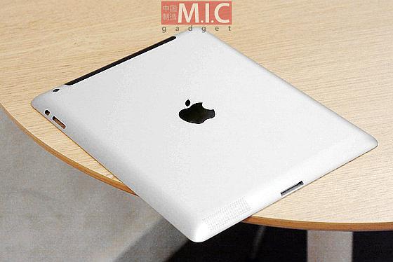 iPad 3 back