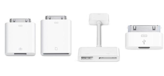 iPad 3 dock connector adapters