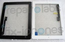 iPad 3 front panels