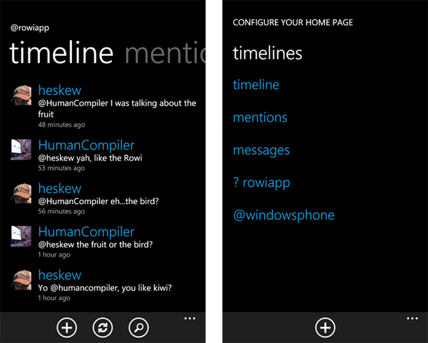 rowi [Windows Phone]