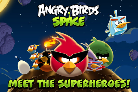 Angry Birds Space Now Available for iOS and Android