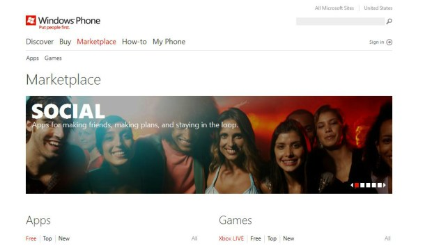 Windows Phone Marketplace Now Boasts Over 70,000 Apps