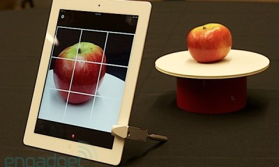 Arqball Spin Uses The iPhone's Camera to Create 3D Models
