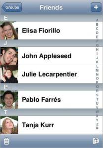 Contact photos iPhone iOS 6 cyntact