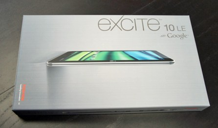 Excite 10 LE Unboxing