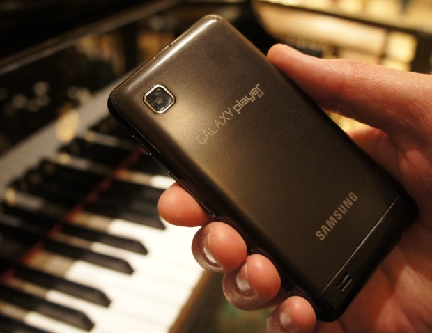 Galaxy Player 3.6 back