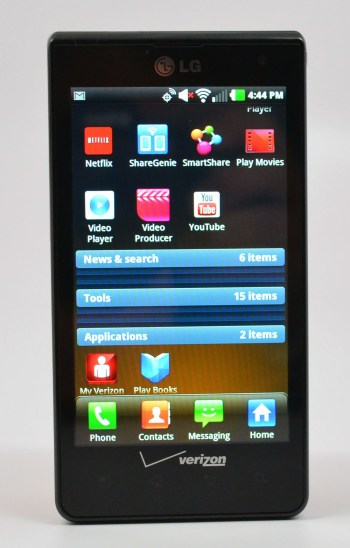 LG Lucid Review apps