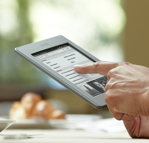Kindle Vs Sony Reader: Kindle Touch Vs Nook Simple Touch With GlowLight