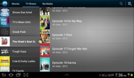 Galaxy Tab 2 Media Hub TV