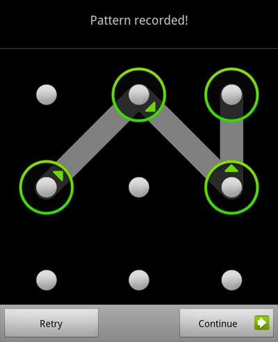 Pattern Unlock