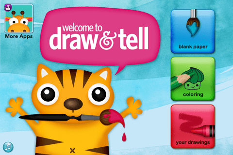 Draw and Tell by Duck Moose