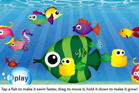Fish School by Duck Moose