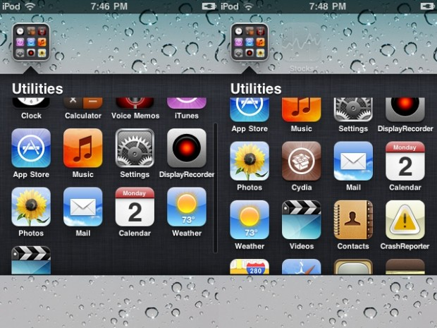 no app folder limits iOS 6 - infinifolders