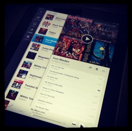 Spotify for iPad