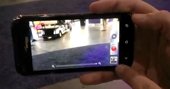 Droid Incredible 4G LTE Camera