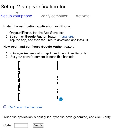 how to use mobile phone google authenticator